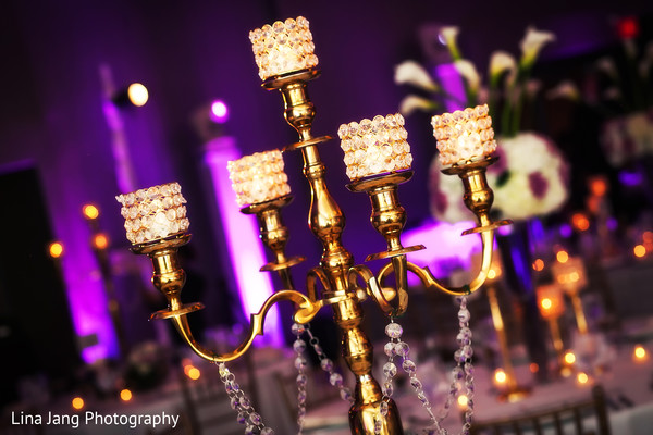 Candles in Jersey City, New Jersey Indian Wedding by Lina Jang Photography