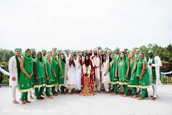 Wedding party in Somerset, NJ Sikh Wedding by Matei Horvath Photography