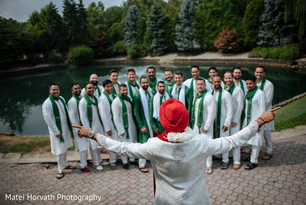 Wedding party, in Somerset, NJ Sikh Wedding by Matei Horvath Photography