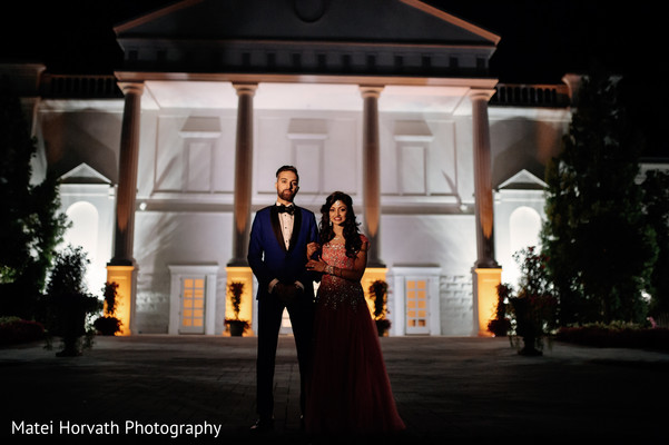 Reception portraits in Somerset, NJ Sikh Wedding by Matei Horvath Photography