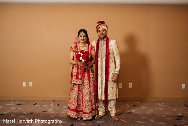 Pre-wedding portraits in San Jose, CA Indian Wedding by Matei Horvath Photography
