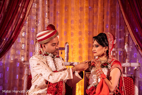 Indian wedding ceremony in San Jose, CA Indian Wedding by Matei Horvath Photography