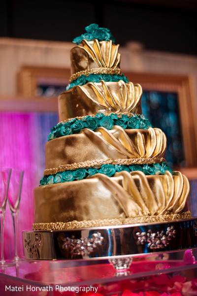 Indian wedding cakes in San Jose, CA Indian Wedding by Matei Horvath Photography