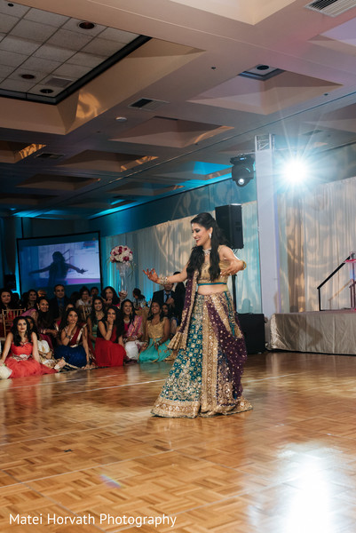 Indian bride and groom reception in San Jose, CA Indian Wedding by Matei Horvath Photography