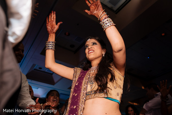 Bhangra performance for wedding in San Jose, CA Indian Wedding by Matei Horvath Photography
