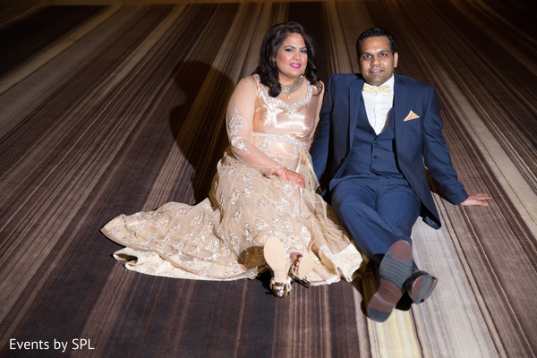 Bride and Groom at Reception Venue in Atlanta, GA Fusion by Events by SPL
