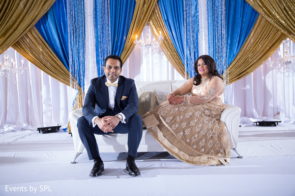 reception venue,indian reception venue,indian reception,gold lengha
