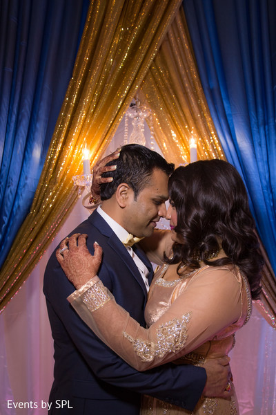 First Dance at Indian Wedding Reception in Atlanta, GA Fusion by Events by SPL