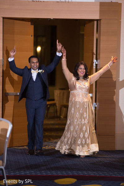 Indian Bride and Groom Entrance in Atlanta, GA Fusion by Events by SPL