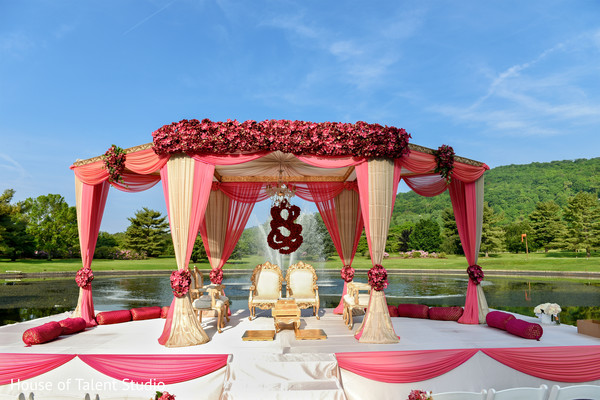 Sikh Wedding Mandap