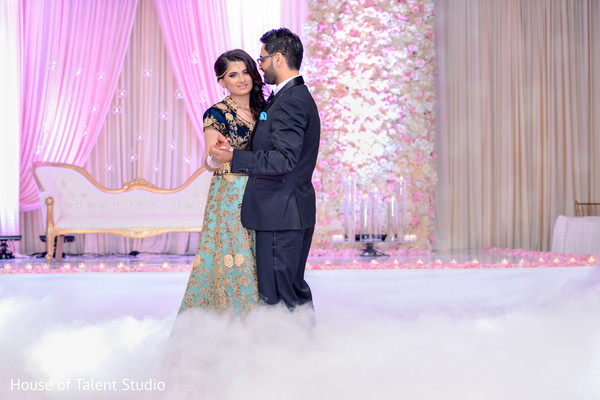 Indian Reception First Dance in Mahwah, NJ Sikh Wedding by House of Talent Studio