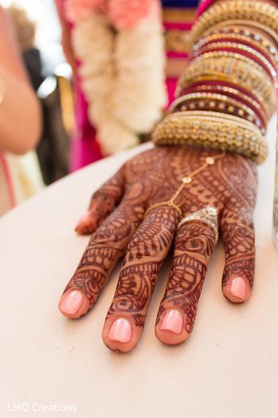 Bridal mehndi in Falls Church, VA Fusion Wedding by LMO Creations