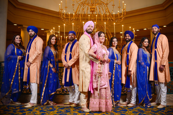 wedding party,wedding party portrait,wedding party picture,wedding party photo,indian wedding party