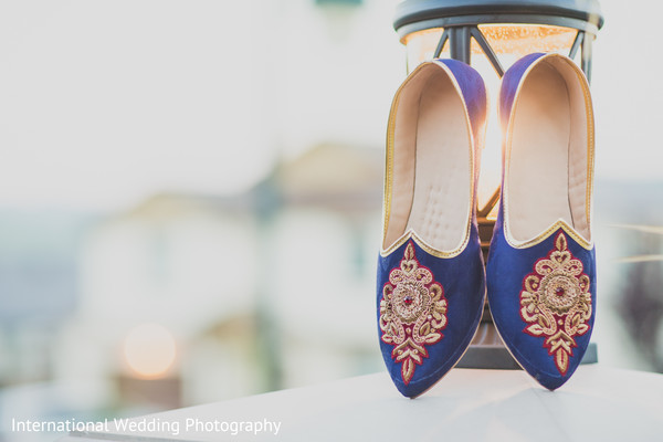 Groom shoes in Livingston, CA Sikh Wedding by International Wedding Photography