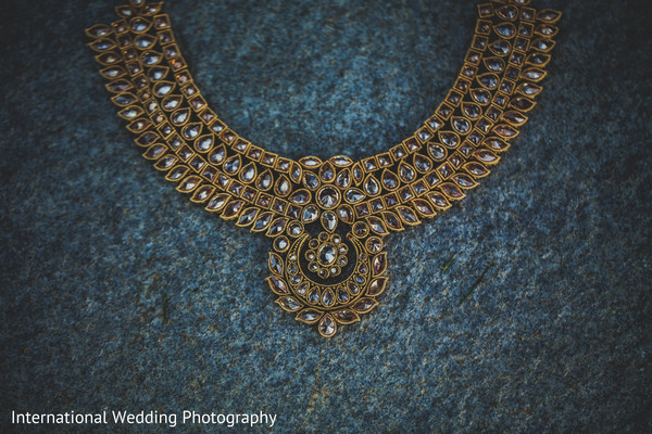Gold jewelry in Livingston, CA Sikh Wedding by International Wedding Photography
