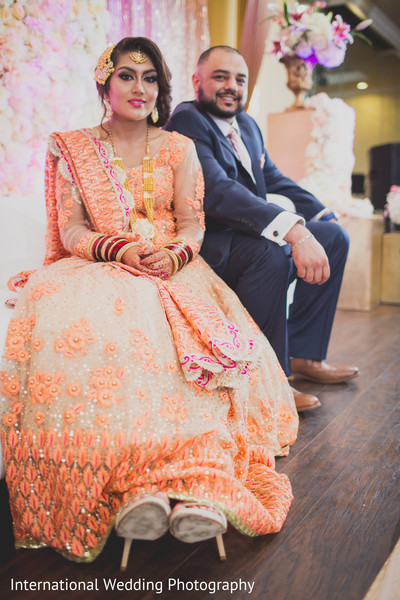 Reception portraits in Livingston, CA Sikh Wedding by International Wedding Photography