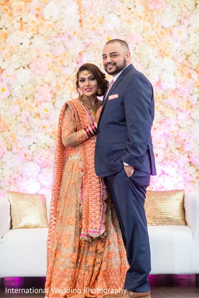 indian wedding reception,reception portraits