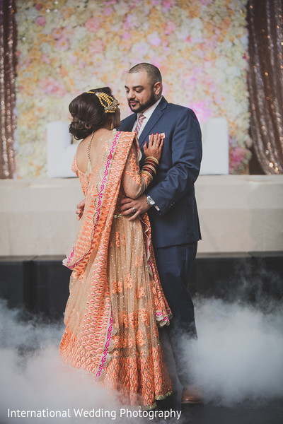 First dance in Livingston, CA Sikh Wedding by International Wedding Photography
