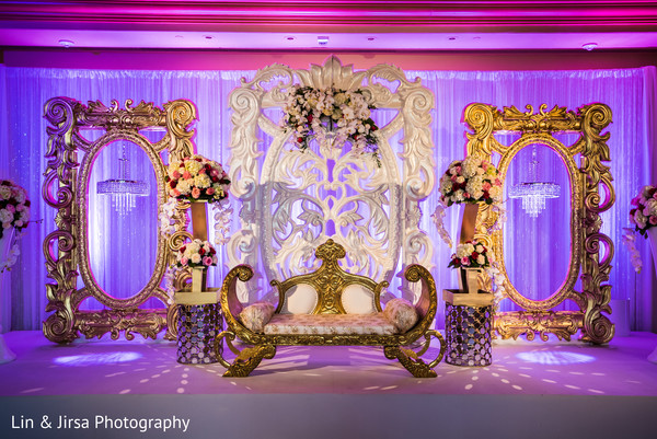 Indian Reception Venue in Newport Coast, CA Indian Wedding by Lin & Jirsa Photography