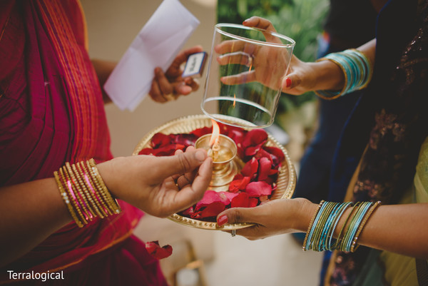 Thali in Bali, Indonesia Destination Indian Wedding by Terralogical