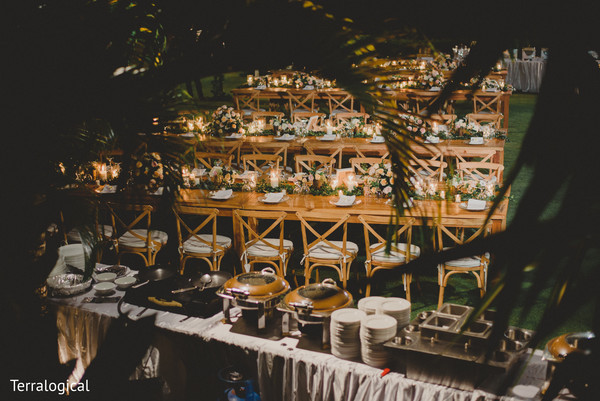 Wedding reception in Bali, Indonesia Destination Indian Wedding by Terralogical