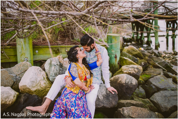 Sangeet portraits in Cambridge, MD Indian Wedding by A.S. Nagpal Photography