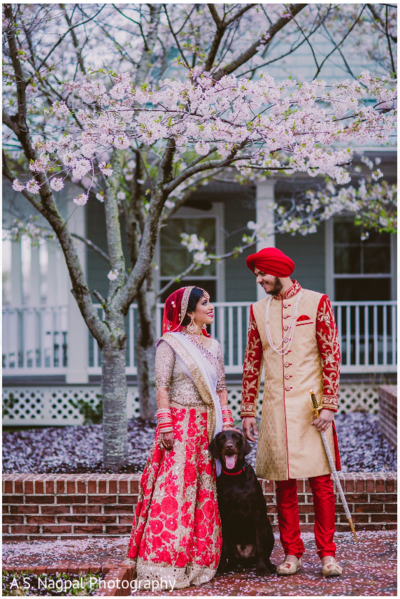 Indian wedding portraits, in Cambridge, MD Indian Wedding by A.S. Nagpal Photography