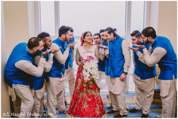 Punjabi bride in Cambridge, MD Indian Wedding by A.S. Nagpal Photography