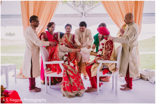 Indian wedding ceremony in Cambridge, MD Indian Wedding by A.S. Nagpal Photography