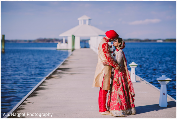 First look in Cambridge, MD Indian Wedding by A.S. Nagpal Photography