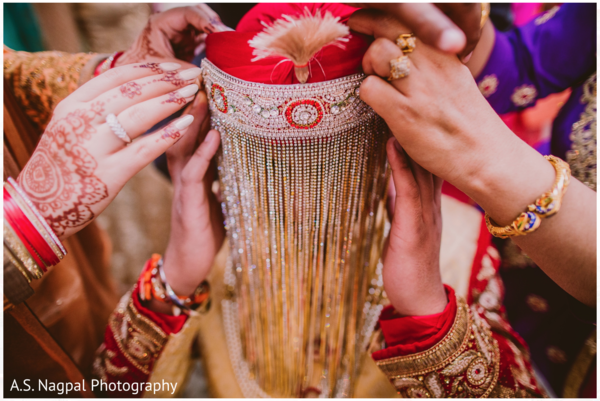 Groom getting ready, in Cambridge, MD Indian Wedding by A.S. Nagpal Photography
