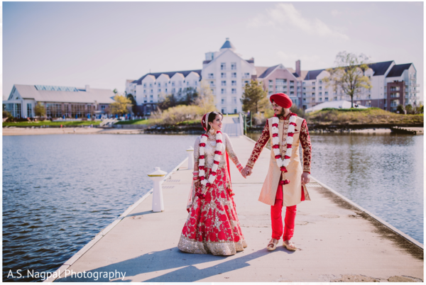 South Asian wedding portraits in Cambridge, MD Indian Wedding by A.S. Nagpal Photography