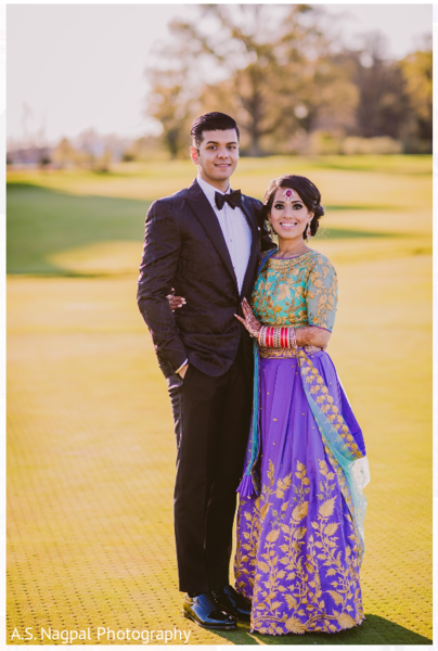 Sangeet lengha in Cambridge, MD Indian Wedding by A.S. Nagpal Photography