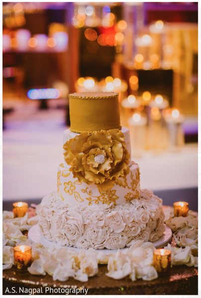 Indian wedding cake in Cambridge, MD Indian Wedding by A.S. Nagpal Photography