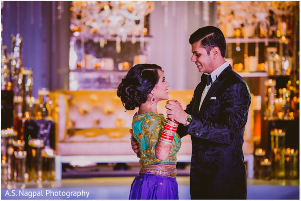 Indian wedding reception in Cambridge, MD Indian Wedding by A.S. Nagpal Photography