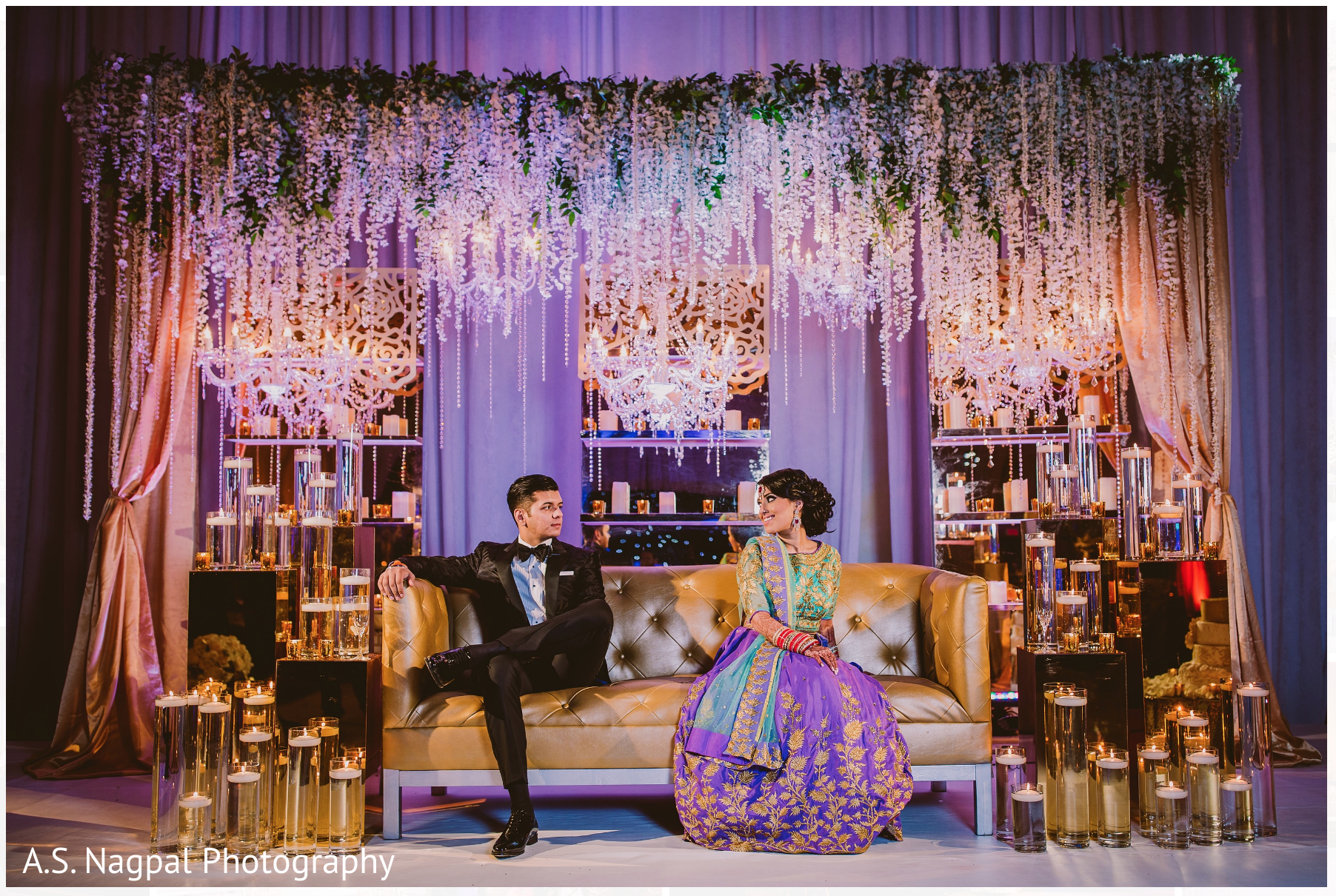 Cambridge md indian wedding by a s nagpal photography for Background decoration for indian wedding
