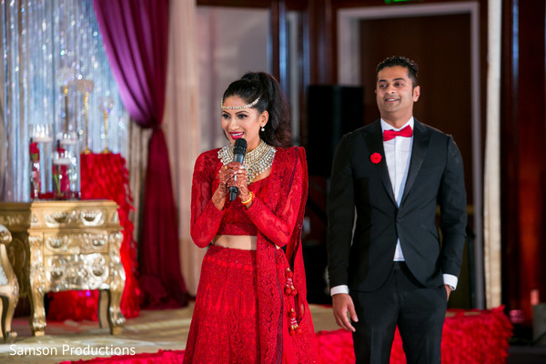 Bride Speech in Long Beach, CA Indian Wedding by Samson Productions
