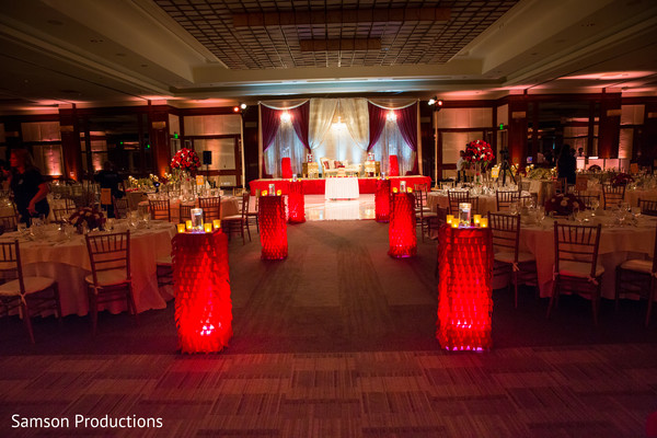 Indian Reception Venue in Long Beach, CA Indian Wedding by Samson Productions