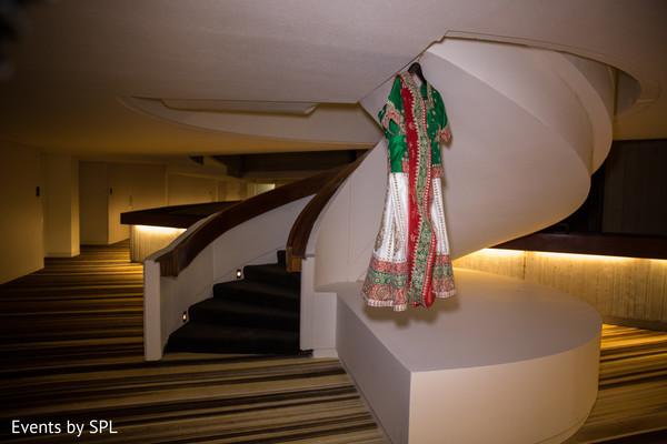 Beautiful Wedding Sari in Atlanta, GA Fusion by Events by SPL
