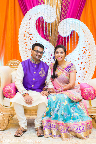 Sangeet night in Herndon, VA, Indian Wedding by Sachi Anand Photography