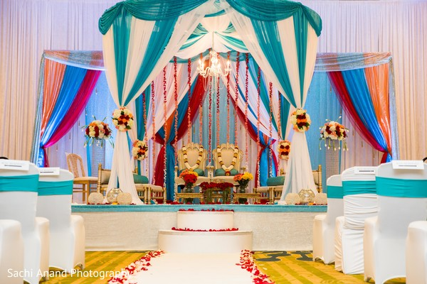 Indian wedding mandap in Herndon, VA, Indian Wedding by Sachi Anand Photography