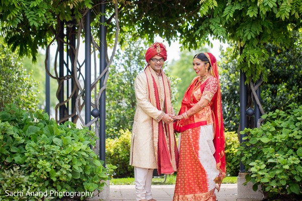 Indian wedding portraits in Herndon, VA, Indian Wedding by Sachi Anand Photography