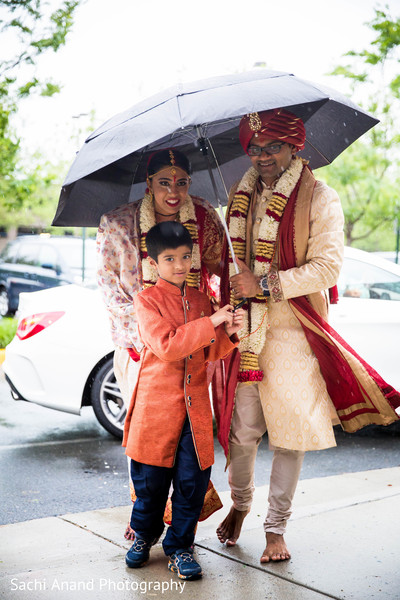 Vidaai in Herndon, VA, Indian Wedding by Sachi Anand Photography