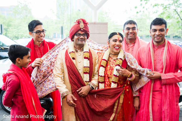 Vidaii in Herndon, VA, Indian Wedding by Sachi Anand Photography