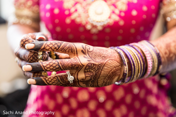 Diamond ring in Herndon, VA, Indian Wedding by Sachi Anand Photography