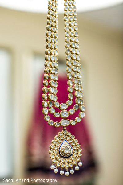 Necklace in Herndon, VA, Indian Wedding by Sachi Anand Photography