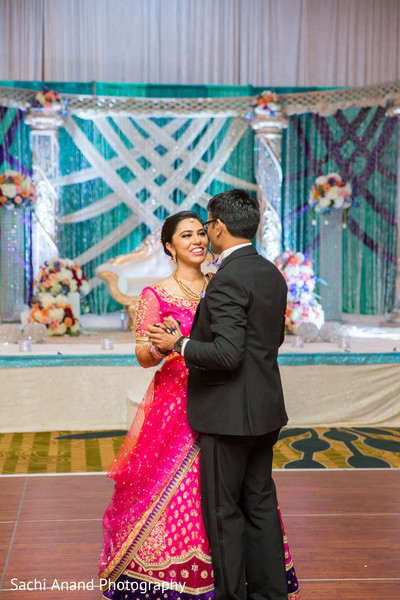 First dance in Herndon, VA, Indian Wedding by Sachi Anand Photography