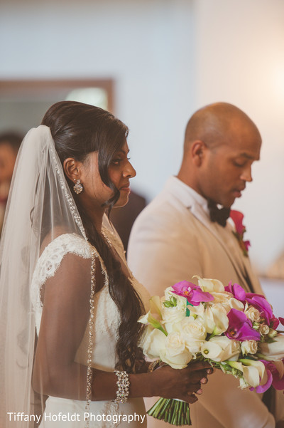church wedding,catholic wedding,fusion wedding,fusion indian wedding