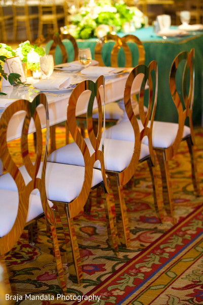 Rental chair gold in Westlake Village, CA Indian Wedding by Braja Mandala Photography
