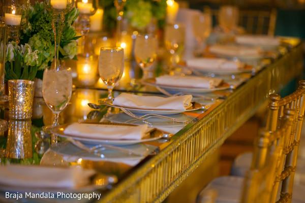 Menu cards in Westlake Village, CA Indian Wedding by Braja Mandala Photography